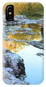 Reflections On Rocky Creek 2 IPhone Case