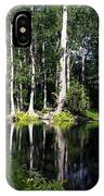 Reflections On The Ocklawaha River  IPhone Case