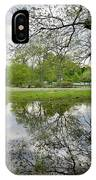 Reflective Field In Spring IPhone Case