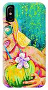 Moment In Paradise, Vacation Painting IPhone Case