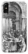 Refusal Of Joachim Offer 1503 IPhone Case