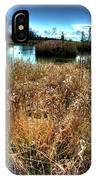 Reifel In Winter 3 IPhone Case