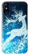 Reindeer Stars IPhone Case