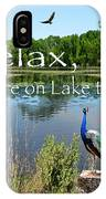 Relax Lake Time-jp2737 IPhone Case