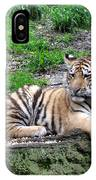 Relaxed Tiger Cub IPhone Case