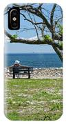 Relaxing By The Shore IPhone Case