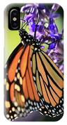 Relaxing Monarch Butterfly IPhone Case
