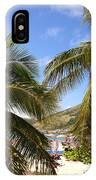 Relaxing On The Beach. Pinel Island Saint Martin Caribbean IPhone Case