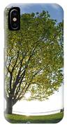 Relaxing Under A Tree IPhone Case