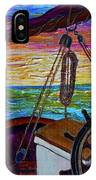 Release The Sails IPhone Case by Jacqueline Athmann