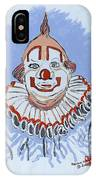 Remembering Clarabelle The Clown IPhone Case