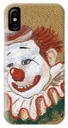Remembering Felix Adler The Clown IPhone Case