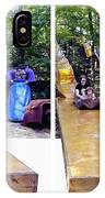 Renaissance Slide - Gently Cross Your Eyes And Focus On The Middle Image IPhone Case