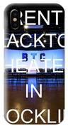 Rent Blacktop Theater In Rocklin, Ca IPhone Case