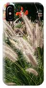 Reptile Garden Plantsi IPhone Case