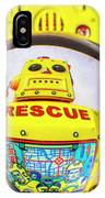 Rescue Yellow Bot IPhone Case