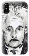 Resemblance To Einstein IPhone Case