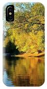 Yamhill River Reflections IPhone Case