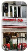 Restaurant And Cafe IPhone Case