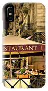 Restaurant In Budapest IPhone Case