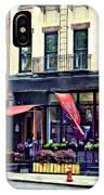 Restaurant In Chelsea IPhone Case