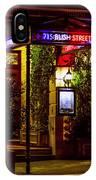 Restaurant Jeanne D'arc IPhone Case