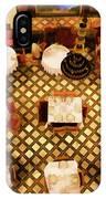 Restaurant Palais Des Merinides Fes Morocco Paint  IPhone Case