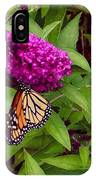 Resting Butterfly 1 IPhone Case
