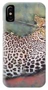 Resting Leopard IPhone Case