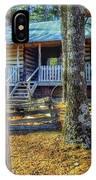 Restored Log Cabin IPhone Case