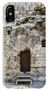 Resurrection - Garden Tomb IPhone Case