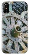 Retired Plow Wheel IPhone Case