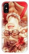 Retro 50s Beach Pinup Girl IPhone Case