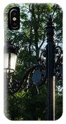 Retro Chic Streetlamps - Old World Charm With A Modern Twist IPhone Case