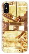 Retro Film Cameras IPhone Case