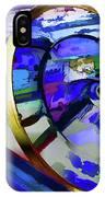 Retro Interior Of Old Automobile IPhone Case