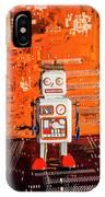 Retro Robotic Nostalgia IPhone Case