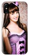 Retro Showgirl IPhone Case