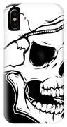 Retro Skull IPhone X Case