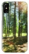 Retzer Nature Center Pine Trees IPhone Case