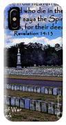 Revelation 16-14 IPhone Case