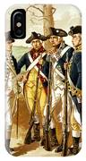 Revolutionary War Infantry IPhone Case