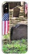 Revolutionary War Veteran IPhone Case