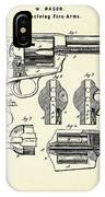 Revolving Fire Arm-1875 IPhone Case