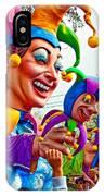 Rex Mardi Gras Parade Xi IPhone Case