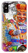 Rex Rides In New Orleans IPhone Case