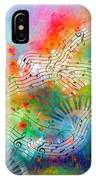 Rhapsody In Blue, And Red, And Green IPhone Case