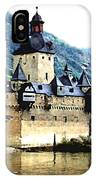 Rhine River Castle IPhone Case