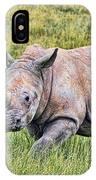 Rhinosceros IPhone Case