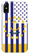 Rhode Island State Flag Graphic Usa Styling IPhone Case